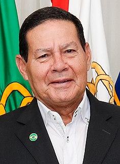 Hamilton Mourão Brazilian vice-president