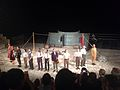 Hamlet at Curium Amphitheatre 3 - Shakespeare's Globe & Pharos Arts Foundation - July 2014.jpg