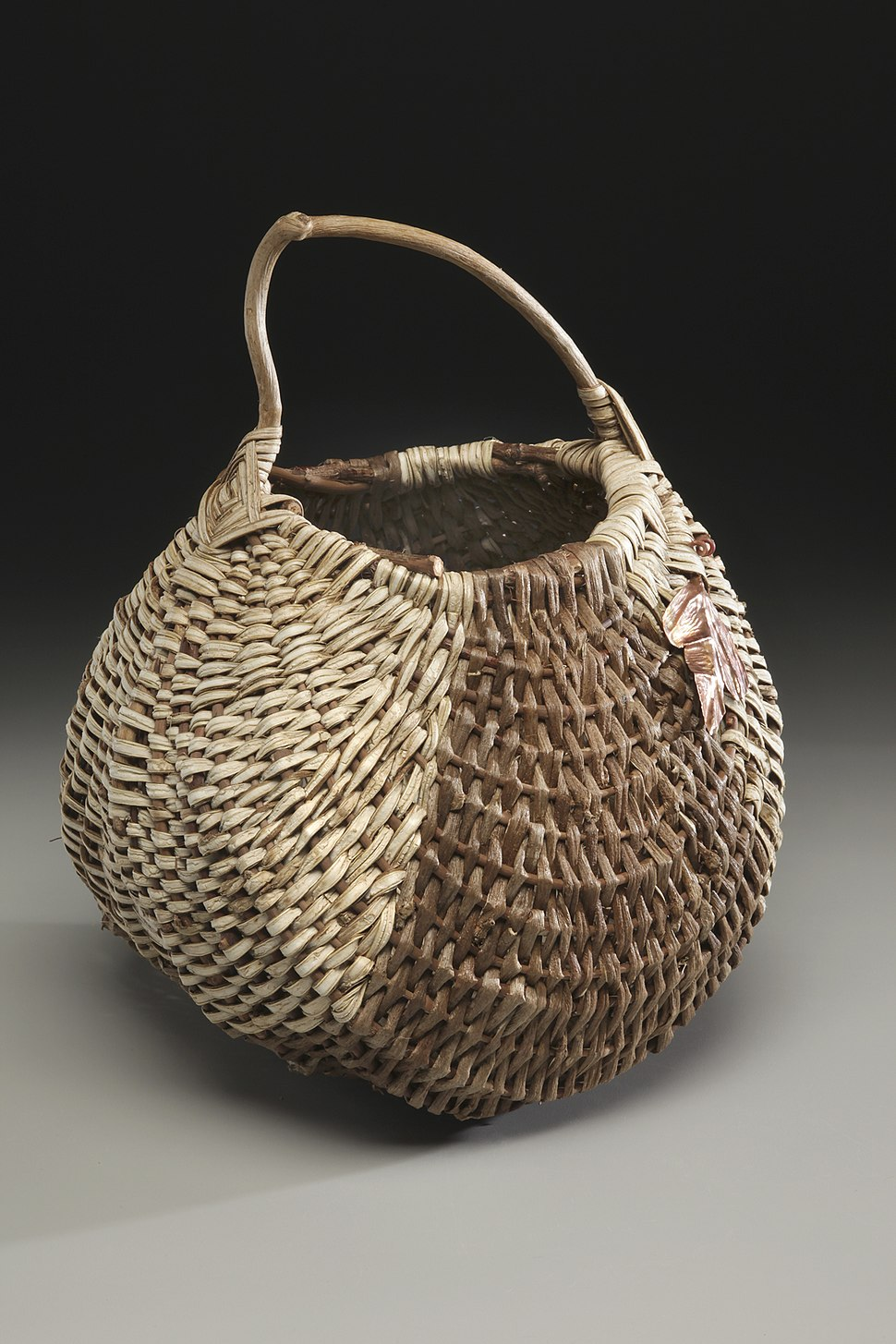 Handmade basket kudzu