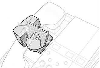 Headset (audio) - Standard handset lifter