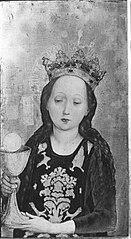 Hl. Barbara Außenseite: Martyrium der hl. Ursula und der elftausend Jungfrauen (Werkstatt, Hans Siebenbürger)
