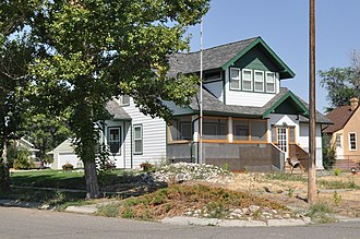 National Register of Historic Places listings in Big Horn County, Montana - Image: Hardin MT Thomas H Burke House