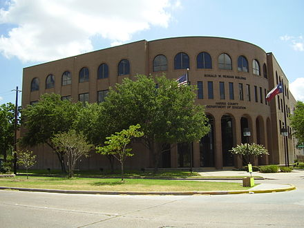 Harris County Department of Education - Ronald W. Reagan Building HarrisCoEducationDept.JPG