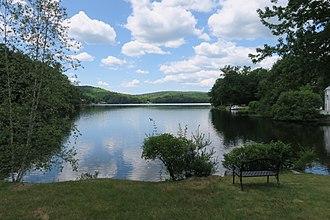 Harrisville Pond - Image: Harrisville Pond, Harrisville NH