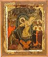 Harrowing of Hell, Early XIV Century, St Mary Perivleptos Church, Ohrid Icon Gallery.jpg