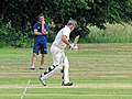 Hatfield Heath CC v. Takeley CC on Hatfield Heath village green, Essex, England 29.jpg