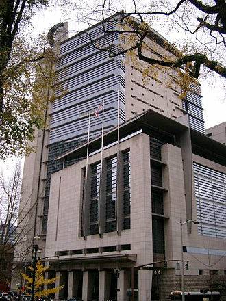 United States District Court for the District of Oregon - The Mark O. Hatfield United States Courthouse in Portland.