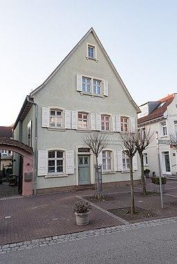 Hauptstraße in Walldorf