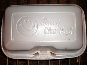 Have a nice day - Image: Have a Nice Day! styrofoam food container