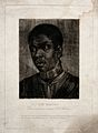 Head of a black man. Process print by Girard after a mezzoti Wellcome V0049700.jpg