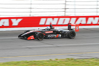 U.S. F2000 National Championship - Driver Heamin Choi at Lucas Oil Raceway in 2012