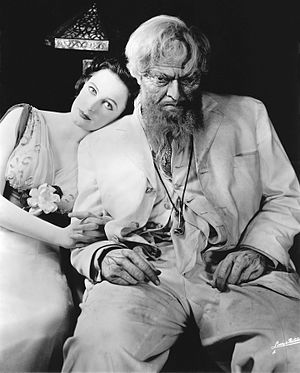 Mercury Theatre - Geraldine Fitzgerald and Orson Welles in Heartbreak House (1938)