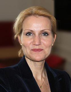 Helle Thorning-Schmidt Danish politician, former Danish Prime Minister