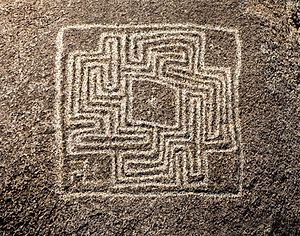 Hemet Maze Stone