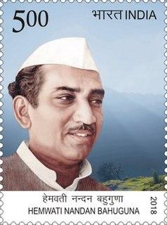 Hemwati Nandan Bahuguna Indian politician