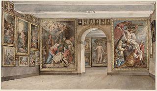 Interior of the Trippenhuis c.1838