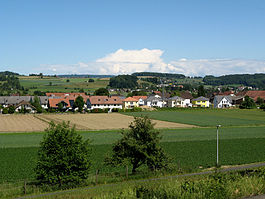 Skyline of Hendschiken