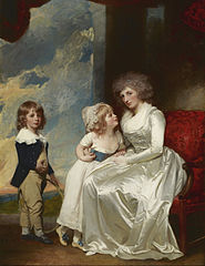 Henrietta, Countess of Warwick, and Her Children