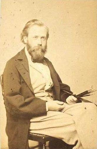 Henrik Olrik - Olrik photographed by H. C. Henneberg
