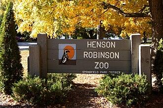 Henson Robinson Zoo - Entrance