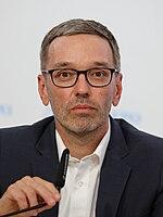 Herbert Kickl - Press conference on Sep 1st.  2020.JPG