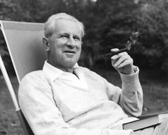 New Left - Image: Herbert Marcuse in Newton, Massachusetts 1955