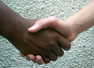 Handshake - Two people shaking hands