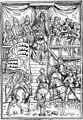 Herzogserhebung eines Grafen von Württemberg by Hans Burkmaier (1493).jpg