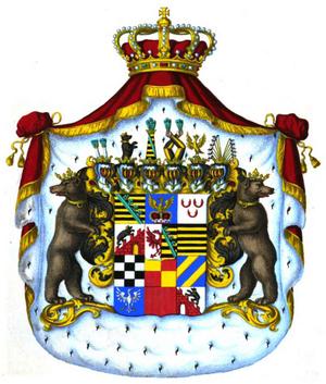 Anhalt-Köthen - Image: Herzogswappen Anhalt Cöthen