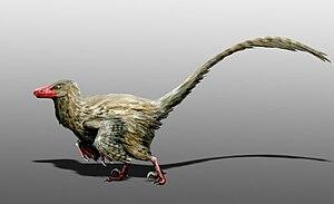 Hesperonychus - Life restoration