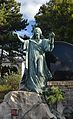 Hietzing cemetery - grave statue of Jesus.jpg