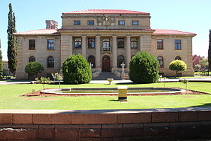 Supreme Court of Appeal of South Africa - Building of the Supreme Court of Appeal in Bloemfontein