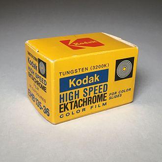 Ektachrome - Kodak High Speed Ektachrome 35mm Film (Expired: 1970s)