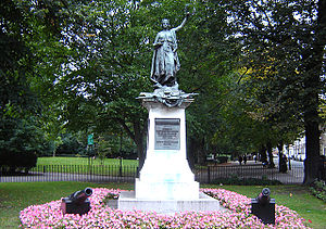 Bertram Mackennal - Boer War Memorial, Highbury Fields, Islington (1903)