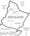 Highland County Virginia Census Map.jpg