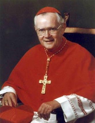 James Aloysius Hickey - Image: His Eminence Cardinal James Aloysius Hickey