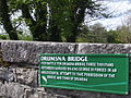 History plaque Drumsna bridge.jpg