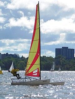 Hobie 17 Sailboat class