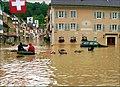 Hochwasser, Laufen 9.8.2007. - panoramio.jpg