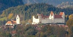 Hohes Schloss und St Mang Füssen