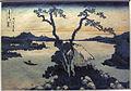 Hokusai, trentasei vedute del monte fuji, il lago suwa in provincia di shinano, 1830-32.JPG