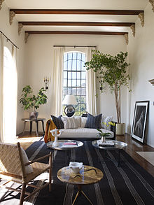 Celebrity Living Rooms Photos