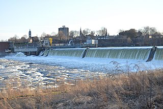 Holyoke Dam Dam in Hampden County and Hampshire County Massachusetts