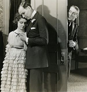 Otto Hoffman - Priscilla Bonner, Charles Ray, and Otto Hoffman in Homer Comes Home (1920)