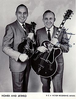 "Kenneth C. ""Jethro"" Burns American musician"