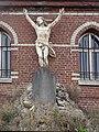 Hondeghem calvaire du cimetière de l'église Saint-Omer.JPG
