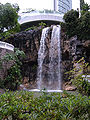 Hong Kong Park waterfall.JPG