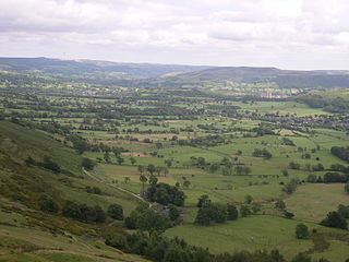 Hope Valley, Derbyshire valley in Derbyshire, England