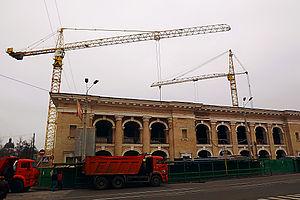Hostynnyi Dvir (Kiev) - Hostynnyi Dvir in November 2013