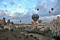 Hot air balloon ride at sunrise in Cappadocia 2.JPG